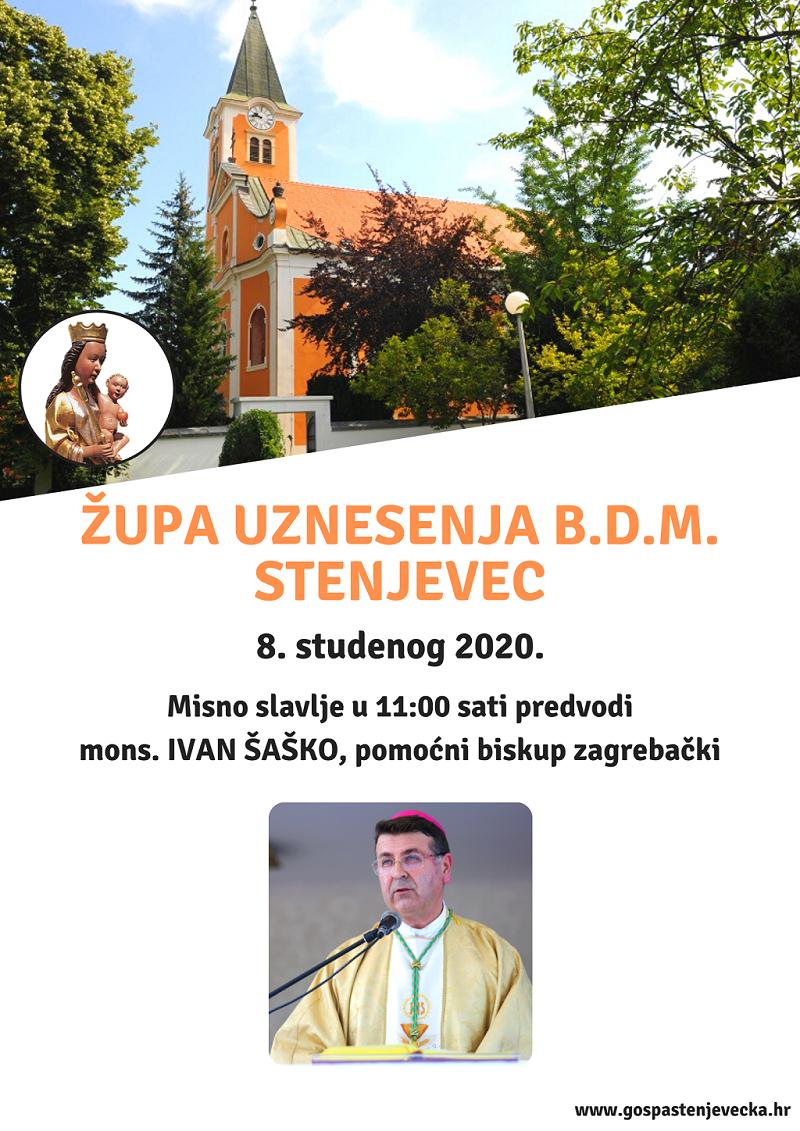 Biskup Šaško u našoj župi!